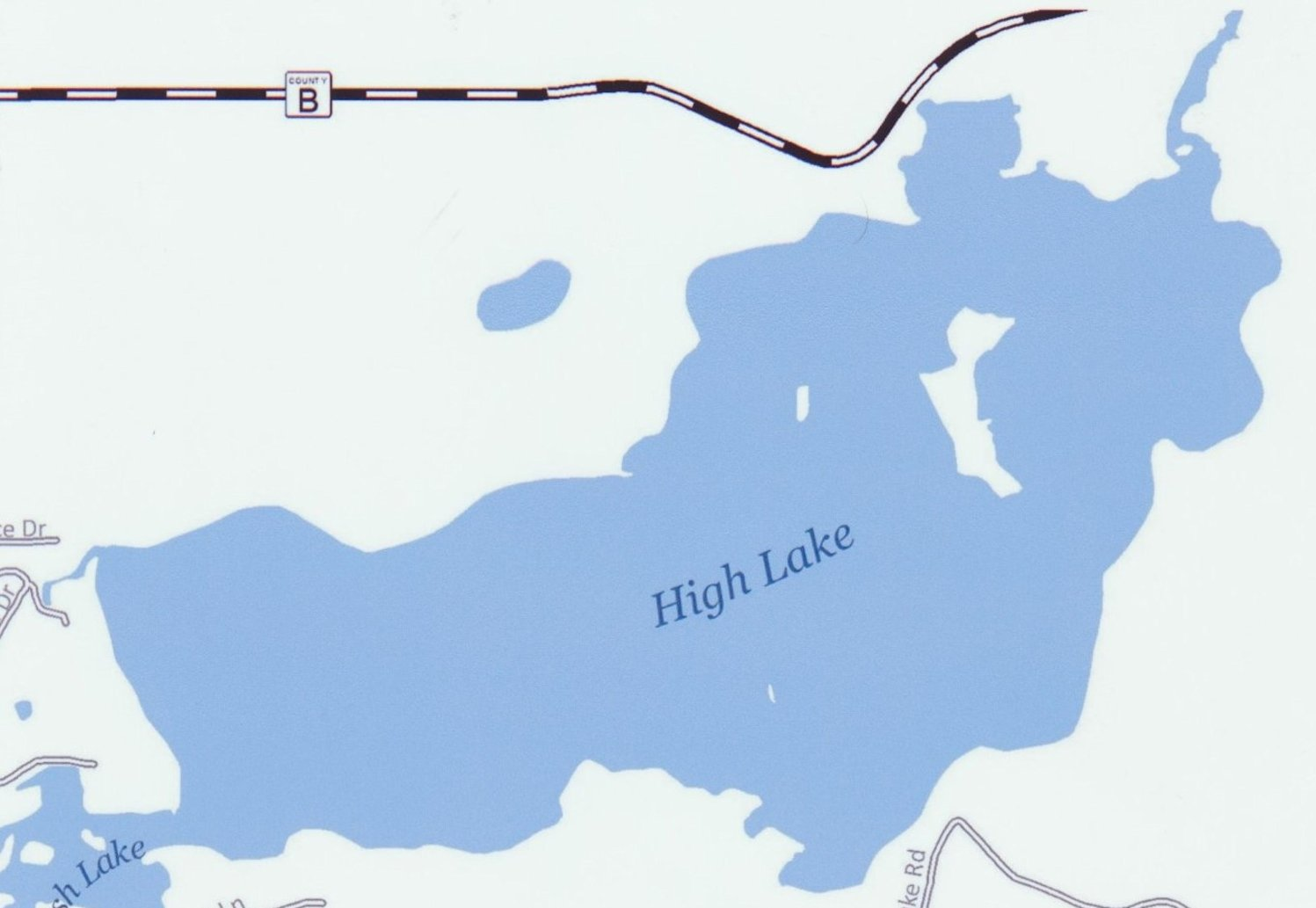 High Lake Map