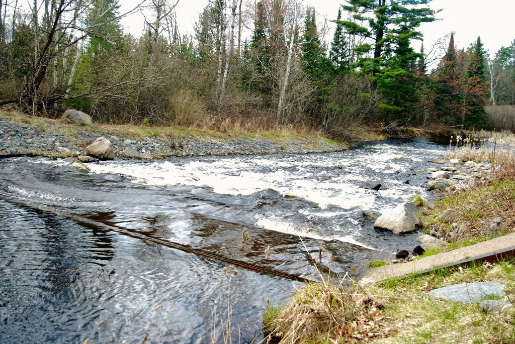 Spillway Down River